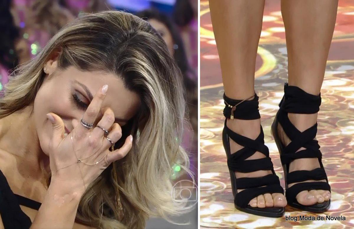moda do programa Domingão do Faustão - look da Flávia Alessandra dia 27 de julho