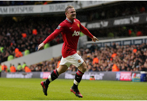 Wayne Rooney, Tottenham HotSpur - Manchester United