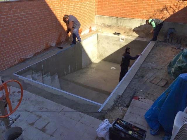 Alba piscinas com proceso de construcci n de una piscina - Construccion de una piscina ...