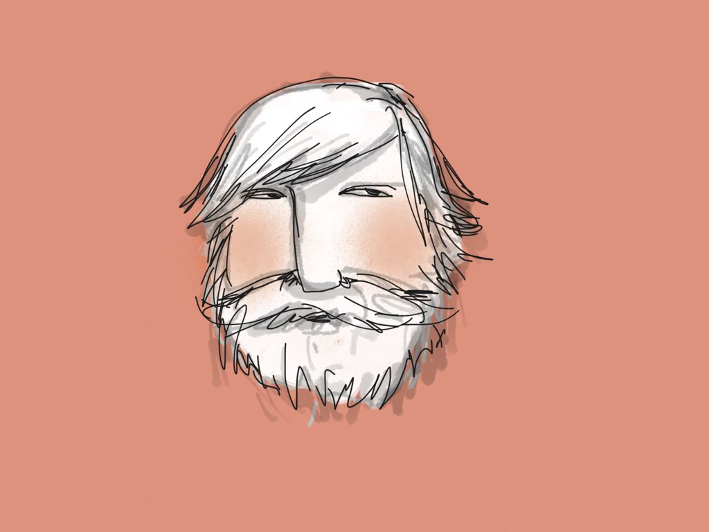old man made with Sketches