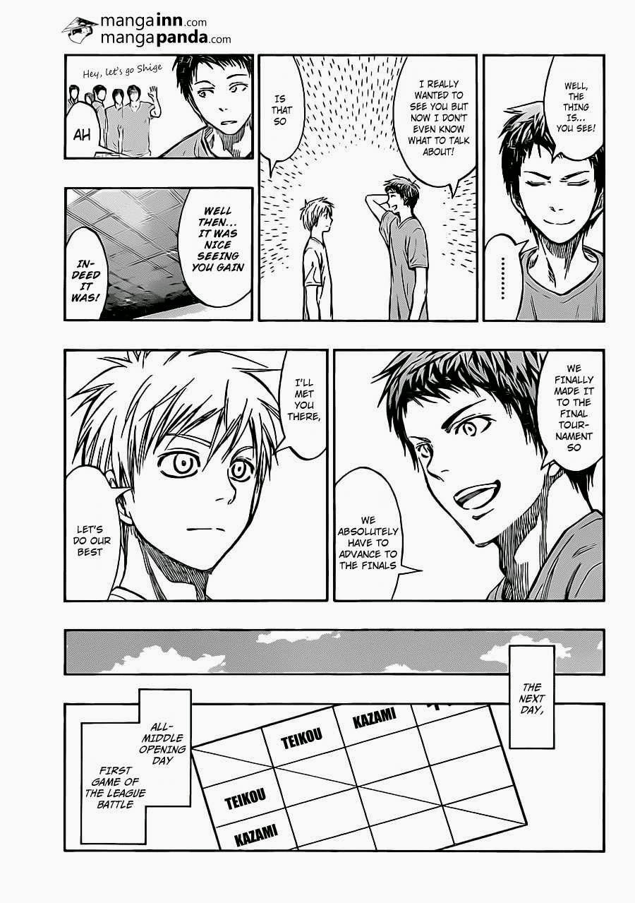 Kuroko no Basket Manga Chapter 215 - Image 11