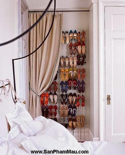 Thiết kế tủ quần áo: Một số thủ thuật giúp tăng diện tích để quần áo-9