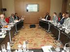 Des hommes d'affaires des Pays-Bas lors d'une mission de travail à Kinshasa du 10 au 11/11/2014. Radio Okapi/Photo John Bompengo