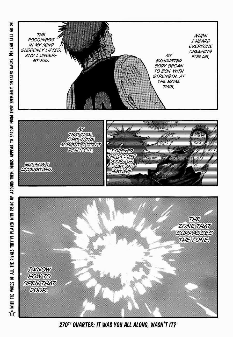 Kuroko no Basket Manga Chapter 270 - Image 02