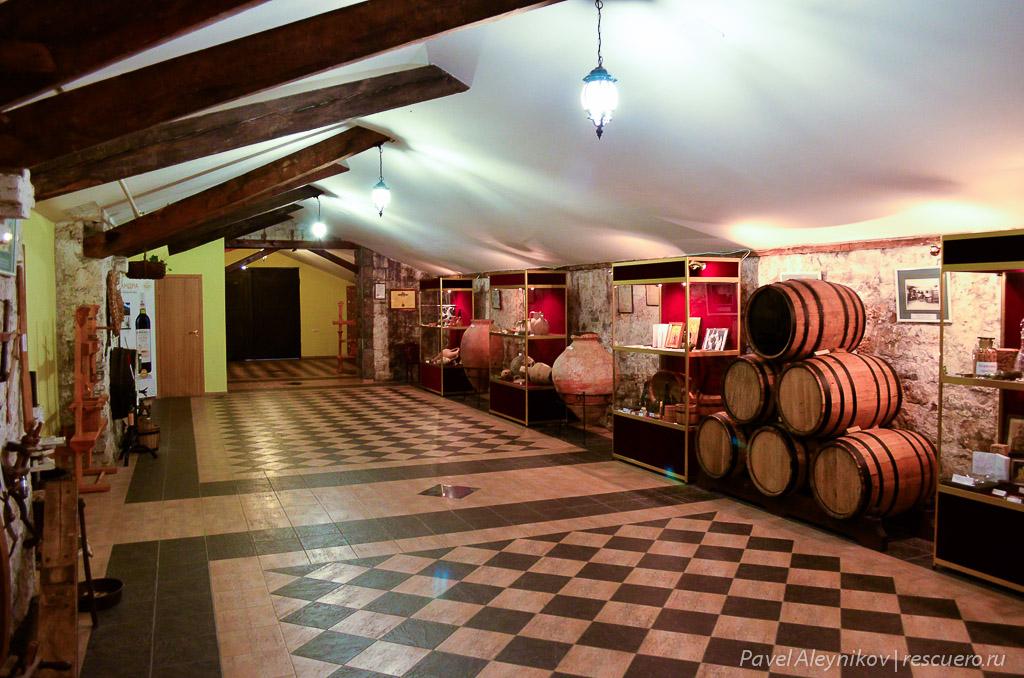 Музей виноделия в Массандре