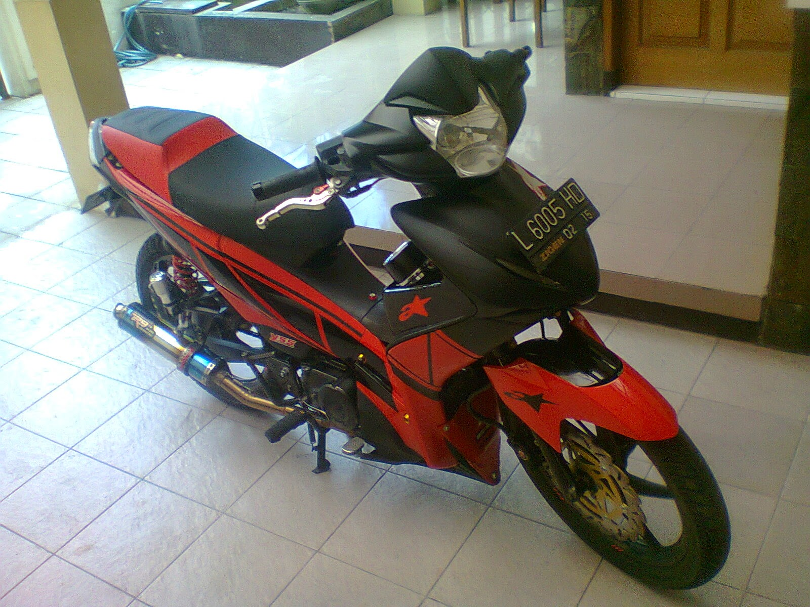Revo Modifikasi Touring