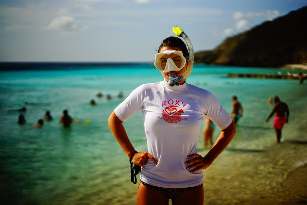 snorkelling in Curacao