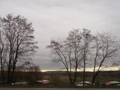 Blick auf Bauer und M�llberg, Gosen