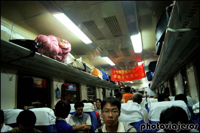 Tren a Xi'an