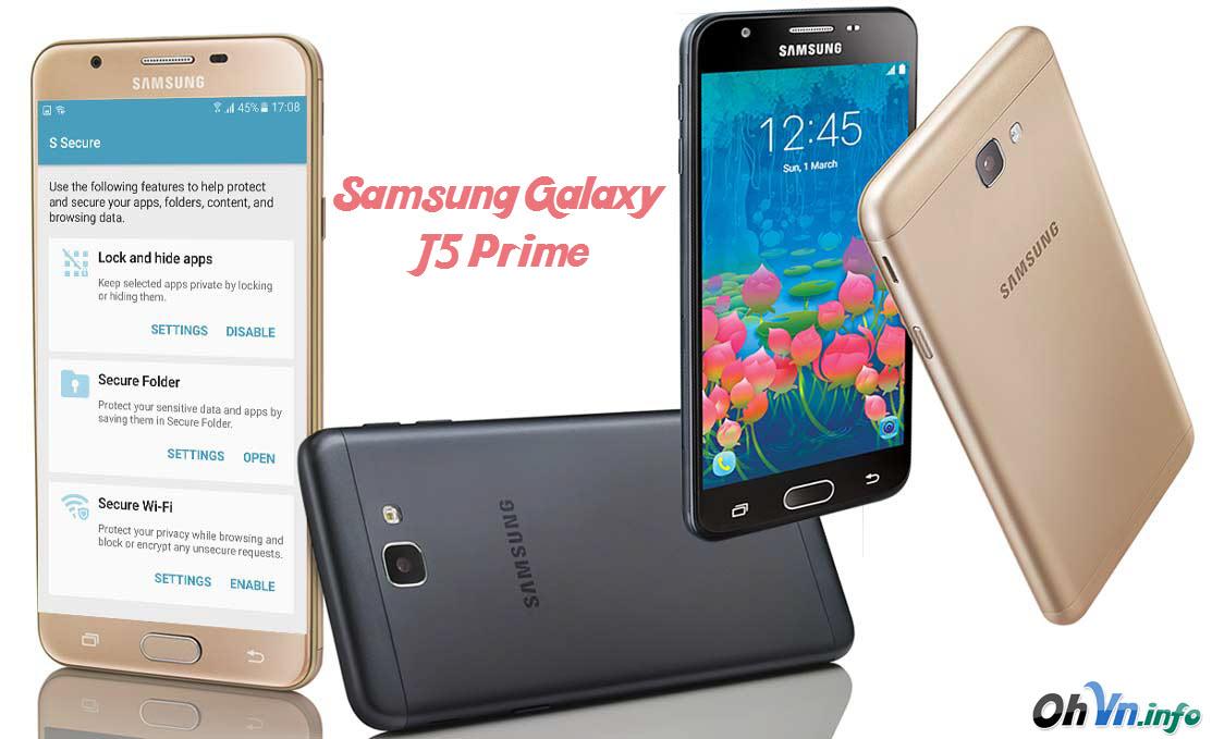 Hướng dẫn Hard Reset Samsung Galaxy J5 Prime