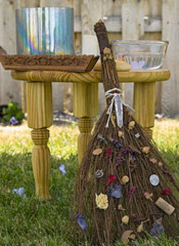 The Tradition Of Broom Jumping In Weddings And Handfastings