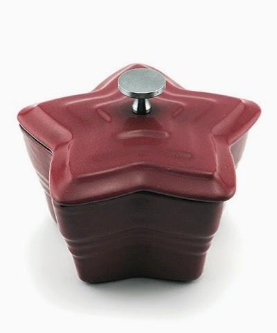 Red Cast Iron Star Casserole Dish £22.99