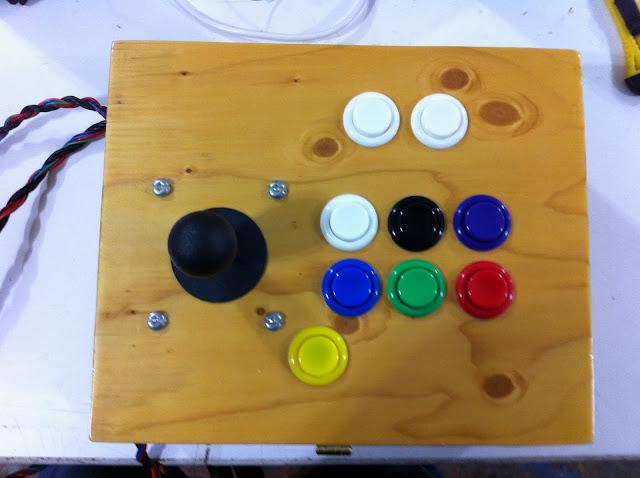 Arcade Control Panel & Arcade Control Panel - Saskatoon TechWorks Forum
