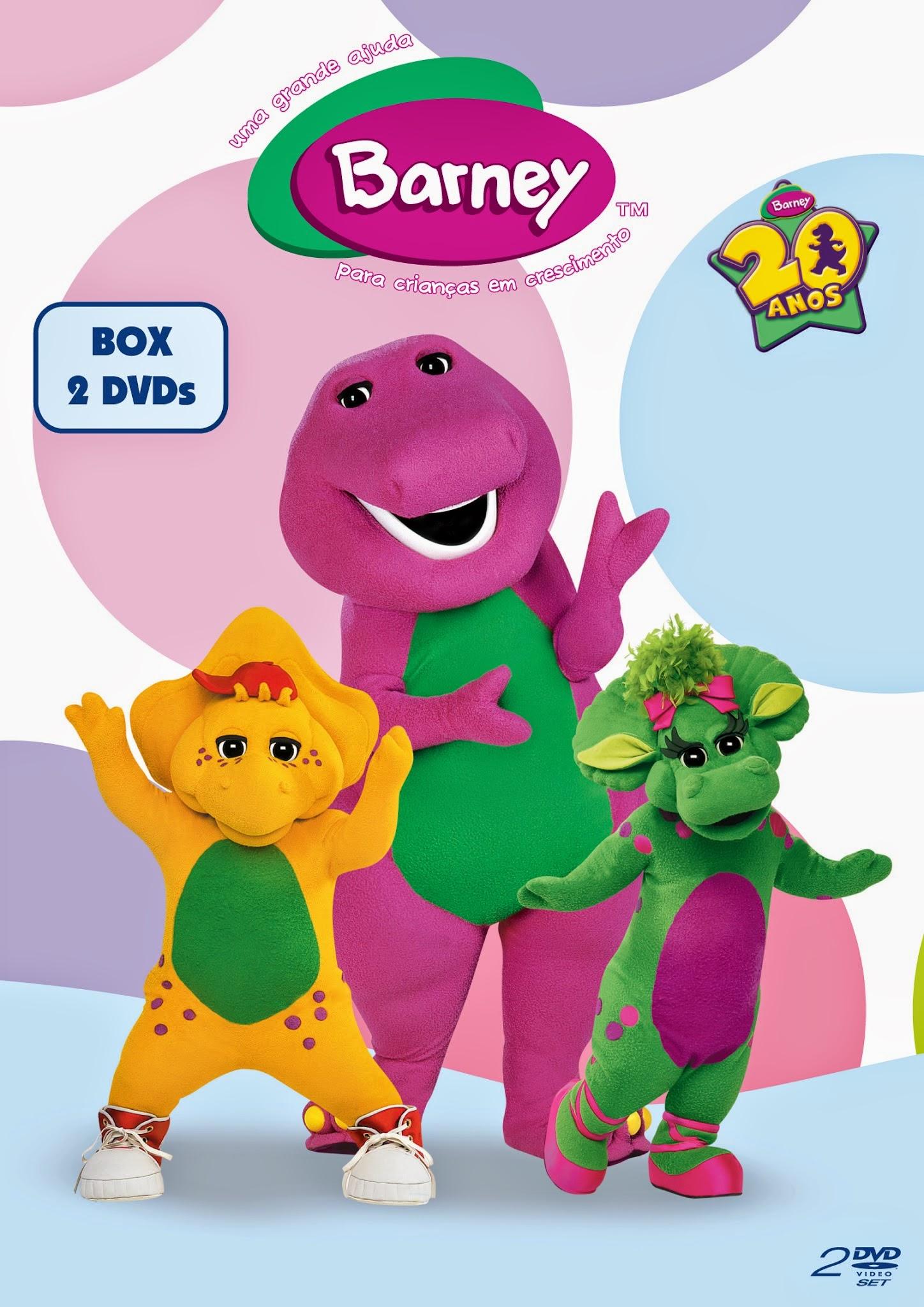 Barney-2DVDs-vol1