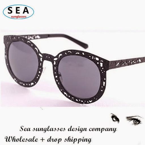 Fashion Round Retro Gafas Hollow Metal Beautify Oculos