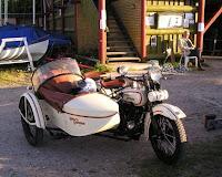 Harley Davidson med sidevogn