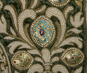 Detail of Imperial object from The Hermitage - Russia's Crown Jewels
