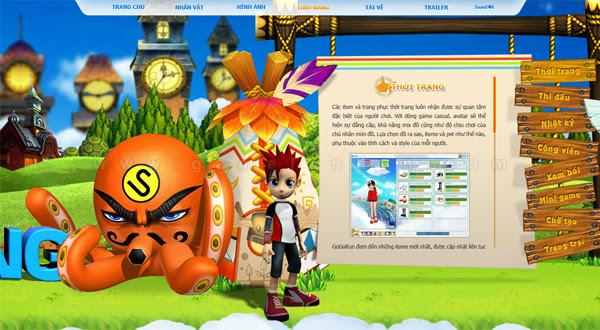 Trang giới thiệu GoGoRun đã chính thức trình làng 11