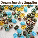 Czech Picasso Glass Beads And Jewelry Findings