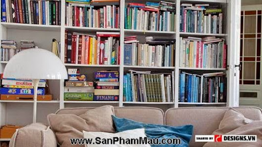 Ý tưởng thiết kế phòng đọc sách hiện đại-3