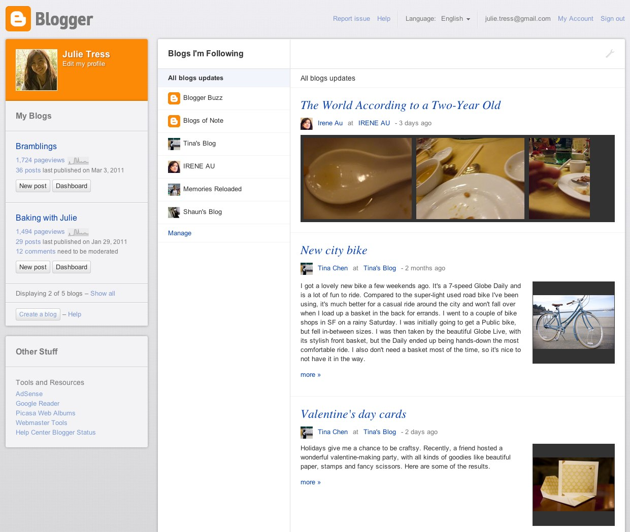 Blog: Official Google Blog: What's New With Blogger