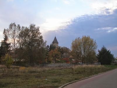 Gosen Blick auf die Kirche