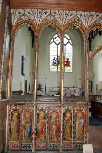 Altar screen