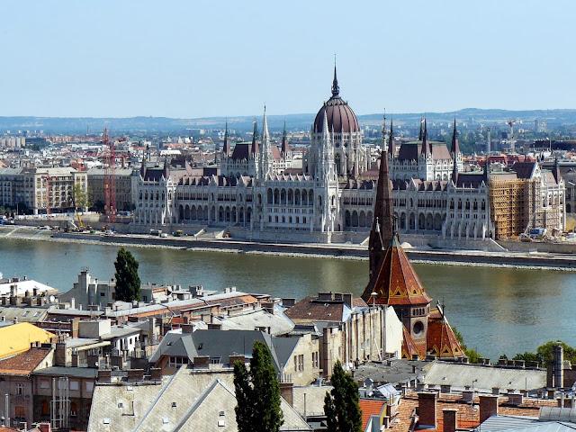 Budapest, vista dal Bastione dei Pescatori