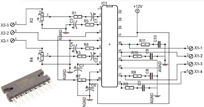car power amplifier with ta82010ah diy circuit rh avecircuits blogspot com