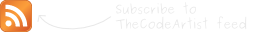 Subscribe to TheCodeArtist RSS feed