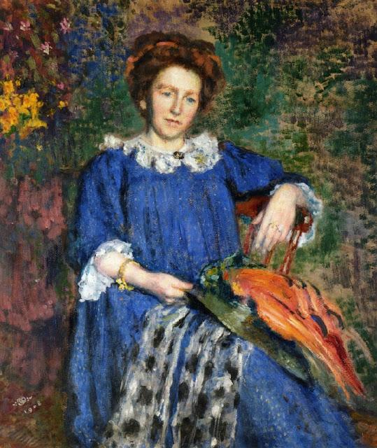 Georges Lemmen - Madame Lemmen