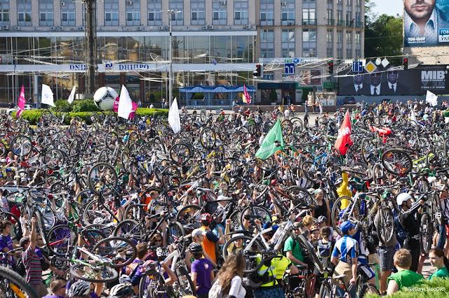 Киев - Велодень 2012