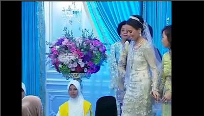 Gambar Pertunangan Anak Najib Nooryana Najwa
