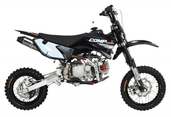 160cc Comp Pro Pit Bike Black