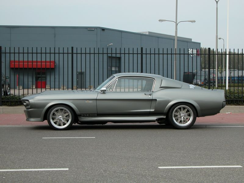 Muscle Car Shelby GT500 Eleanor ~ LUXURY CARS NEVER DIE