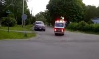 أصغر سيارة اطفاء فى العالم