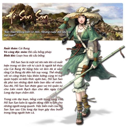 Những nhân vật nổi bật trong Cửu Long Tranh Bá 6