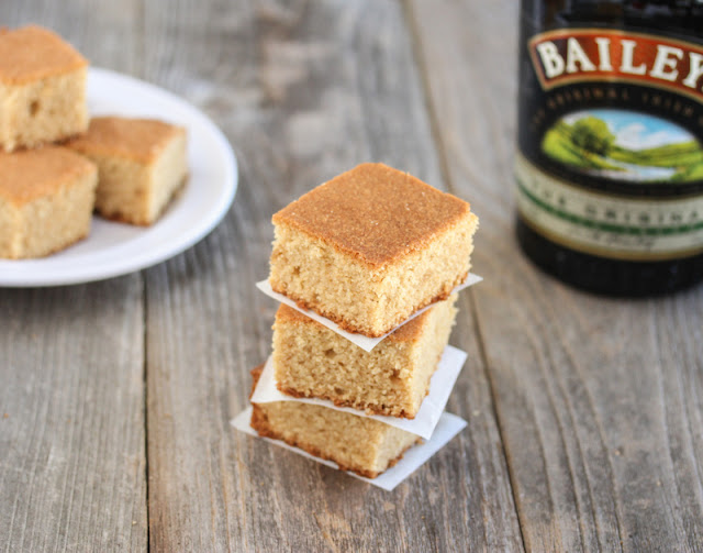photo of bailey's blondies