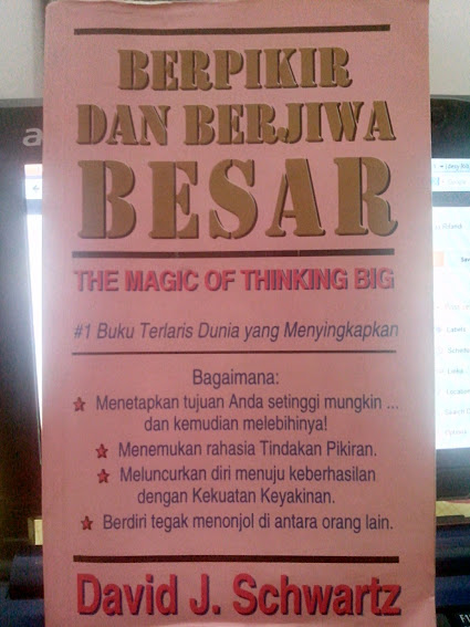Buku The Magic of Thinking Big