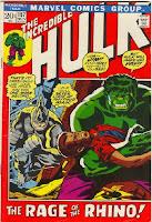 Incroyable Hulk comics