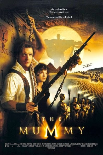 Poster Of The Mummy (1999) Full Movie Hindi Dubbed Free Download Watch Online At Alldownloads4u.Com