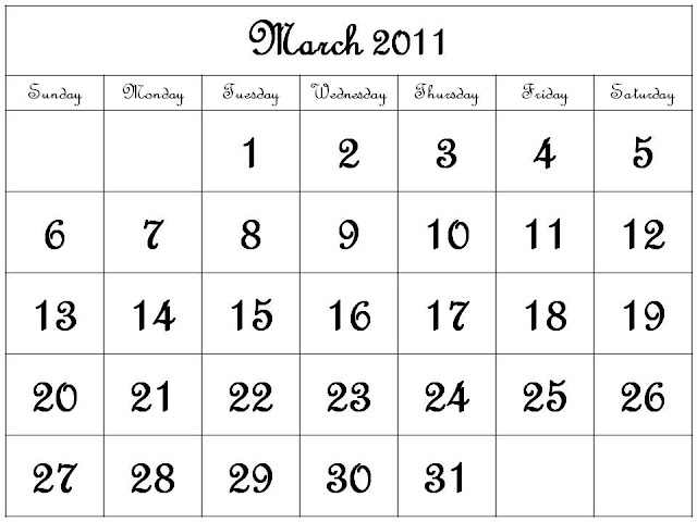 printable calendars may 2011. hot May 2011 Printable Monthly