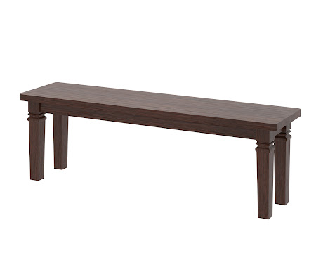 Corsica Bench in Temperance Walnut