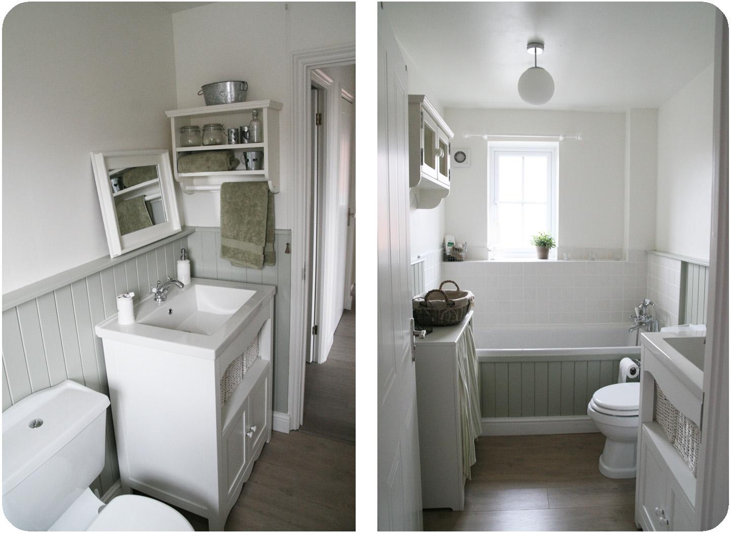 Progettare due bagni shabby chic interiors - Bagno shabby immagini ...