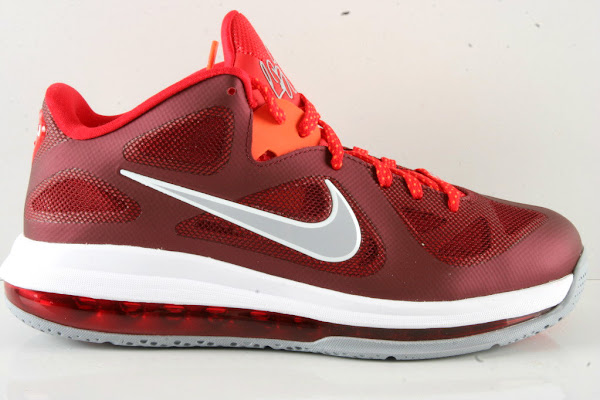 Another Look at Recently Released Nike LeBron 9 Low 8220Team Red8221