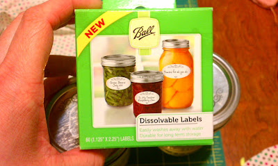 Ball Canning Labels