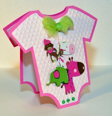 Girl Baby Shower Jungle Theme Invitations