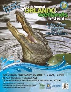 15th Annual Orlando Wetlands Festival