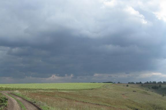 дождевые тучи