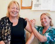 Health workers launch battle against flu season